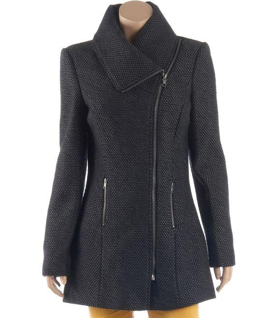 a8148f9b922e manteau femme en laine m lang e vestes et manteaux camaieu pret a porter f  minin mode et