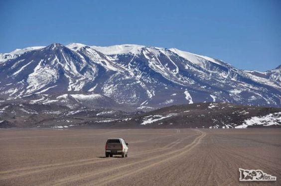 Salar de Uyuni, na Bolívia