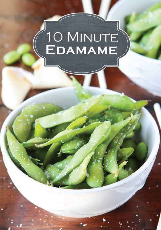 This DIY Restaurant-Style Steamed Edamame makes a great appetizer and only takes 10 minutes to whip up!