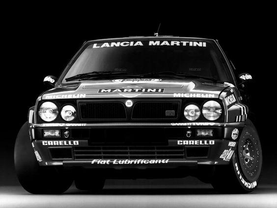 Black Lancia Delta