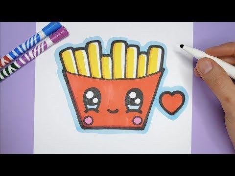 Kawaii Pommes Frites Zeichnen Und Malen Kawaii Bilder Youtube Bilder Malen Bilder Zum Nachmalen Bilder Zum Ausmalen