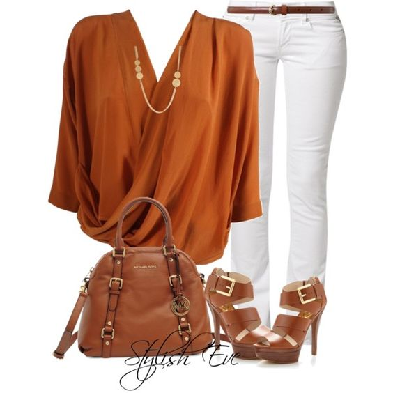 Love this blouse, color, style and shape. Great fall color.:
