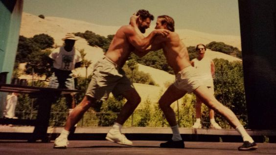 Via Twitter:1995 memories for#CalShakes40thHenry IV, Part I fight rehearsal on stage