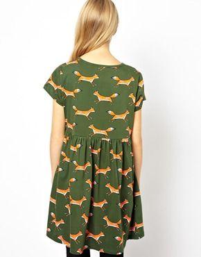 Dress With Cute Fox
