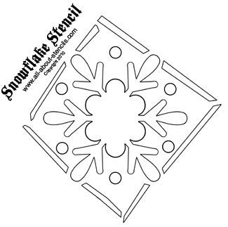 Using Snowflake Patterns to Create a 3-D Centerpiece and More