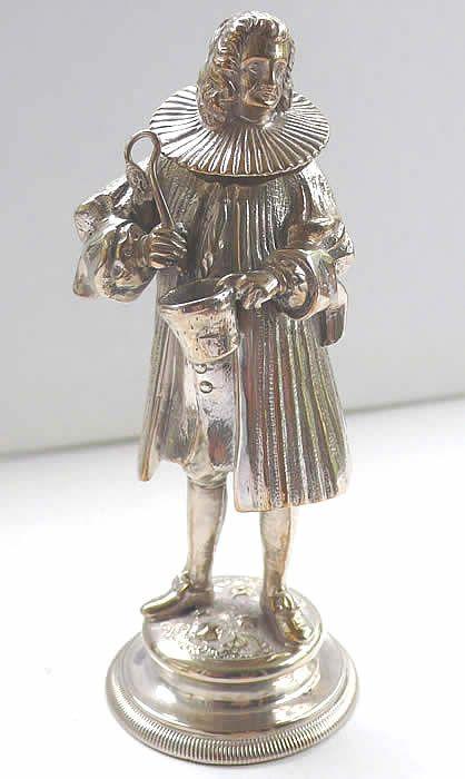 Antique Silver Scent Bottle: