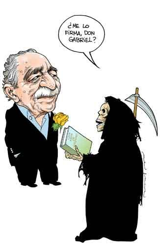 Garcia Marquez by Helguera