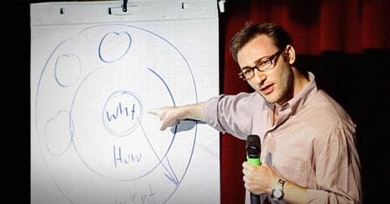 """Simon Sinek has a simple but powerful model for inspirational leadership all starting with a golden circle and the question """"Why?"""" His examples include Apple, Martin Luther King, and the Wright brothers."""