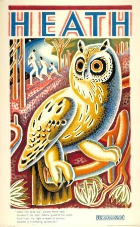 heath-owl-ellis (from the London Transport Museum Poster Auction)