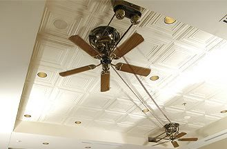 We Recently Saw A Belt Driven Ceiling Fan At Brics A