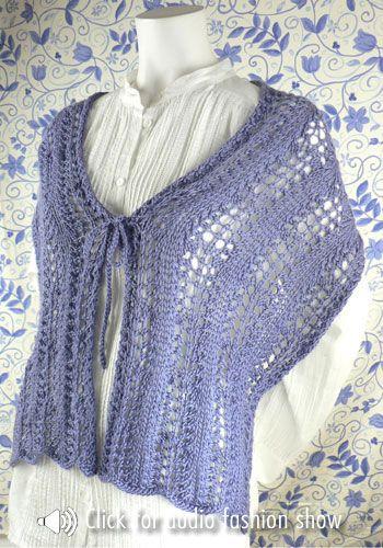 Knit Ruana Pattern Free : Felicita Ruana -free pattern; thanks! knitting Pinterest Free pattern, ...