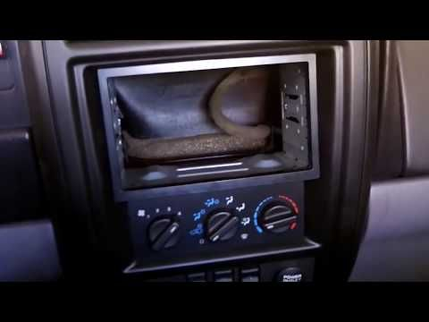 How To Install A Martinbuilt 2 Din Dash Bezel In 97 01 Jeep
