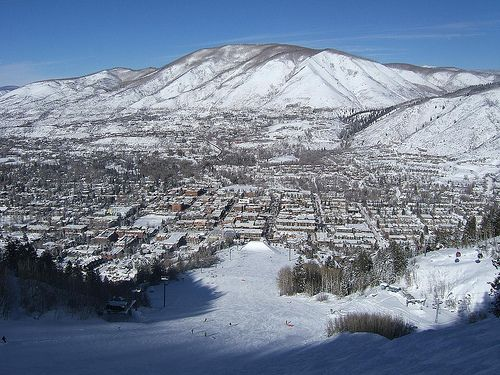 Aspen, taken from the lift.