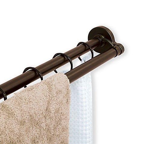 Titan Neverrust 72 Inch Aluminum Double Straight Tension Shower