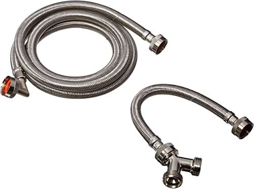 New Eastman 41025 Steam Dryer Installation Kit Stainless Steel Hoses 6 Ft Long Online Shopping Fayafashionable In 2020 Steam Dryer Stainless Steel Hose Stainless Steel Faucets