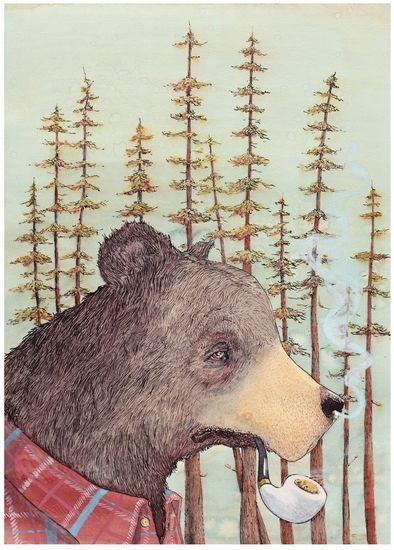 Smokey the Bear by Graham Franciose
