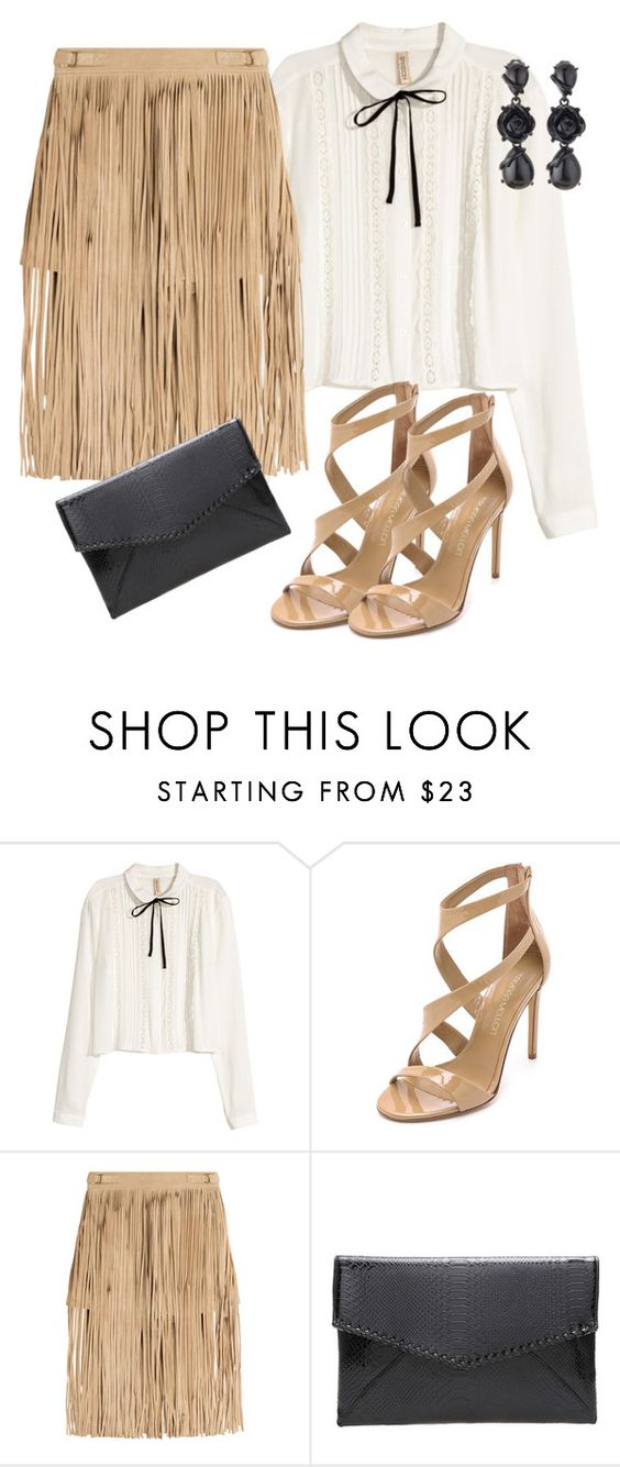 """Sem título #444"" by dolcevita12 ❤ liked on Polyvore featuring H&M, Tamara Mellon and Oscar de la Renta"