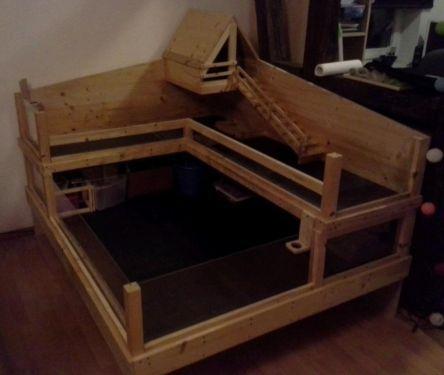 eigenbau meerschweinchen k fig nager k fig nickels. Black Bedroom Furniture Sets. Home Design Ideas
