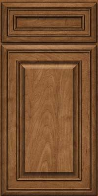 KraftMaid Cabinets -Square Raised Panel - Solid (BLM) Maple in Rye from waybuild