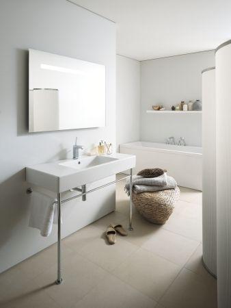 duravit vero - waschtisch mit gestell (ohne breite ablage
