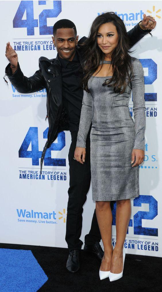 Naya Rivera with her boyfriend Big Sean <3