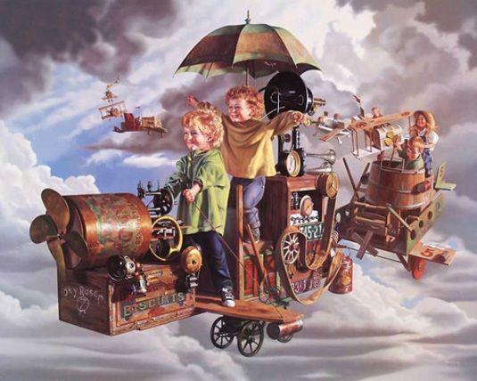 *Flight Of The Angels....Bob Byerley