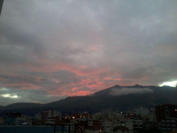 Cuando el cielo de Quito habla