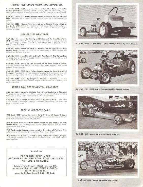 Great Oregon Racers - Page 5 - THE H.A.M.B.