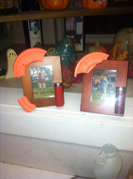 Shooting clay pigeons gift picture frame skeet shooting