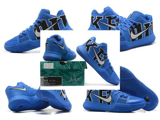 Free Shipping Only 69$ NIKE KYRIE 3 III DUKE 922027-001 New Arrival Kyrie