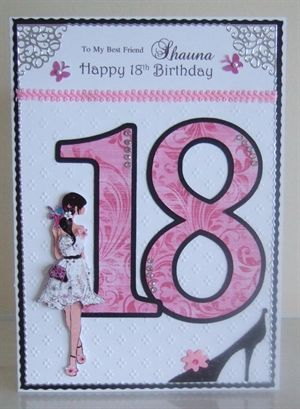 Best Friend 18th Birthday by: Emerald-Isle   Embossed and ...