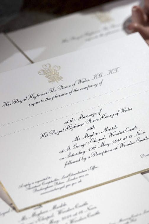 Prince Harry And Meghan Markle Finally Sent Out Invites With The