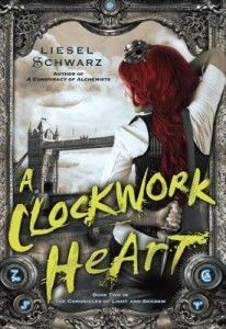 Review: A Clockwork Heart by Liesel Schwarz -While investigating some disappearances Marsh runs into some bad people who turn him over to an insane woman who removes his heart and replaces it with a clockwork heart. Now it is up to Elle and her friends and family to rescue Marsh and restore his heart to him before it is too late. (click image for full review)