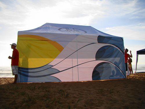Surfart feita para tenda da Bola de Neve, Vitória - ES by Tom_Veiga, via Flickr