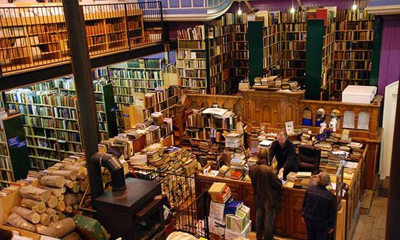 Leakeys Secondhand Bookshop, Iverness, Scotland (I've been to Inverness - why oh why didn't I know about this place then?!?!)