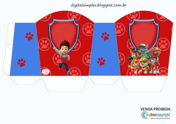 Mais um Kit de Anivers ário  para vocês meninas, é só salvar e imprimir, Kit da Patrulha Canina, com os personagens do desenho anim...