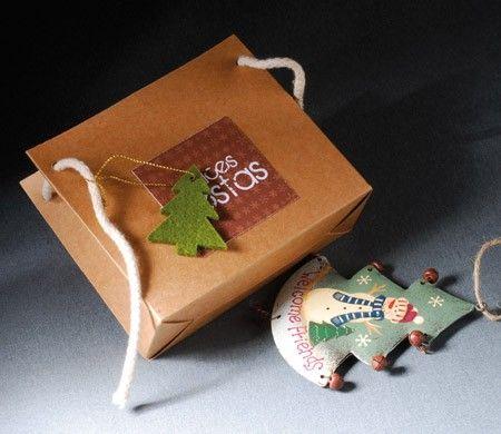 Bolsita para regalos de Navidad