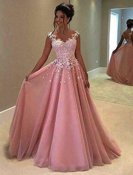 Dress Fashion Show Fashion Nova Party Dress Rather Dress Fashion Eid Sheer Prom Dress Pink Prom Dresses Cap Sleeve Prom Dress
