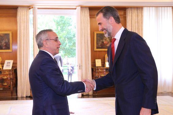 Foro Hispanico de Opiniones sobre la Realeza: Rey Felipe VI recibe a una representación de los deportistas españoles que irán a los Juegos Europeos