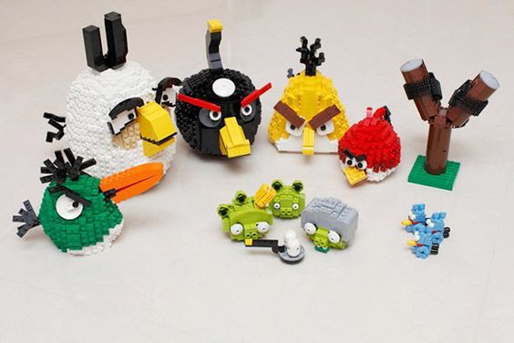Angry Lego: Bird Legos, Lego Angry, Birds Awesome, Lego S, Lego Ideas, Lego Creation, Angry Birds, Birds Legos