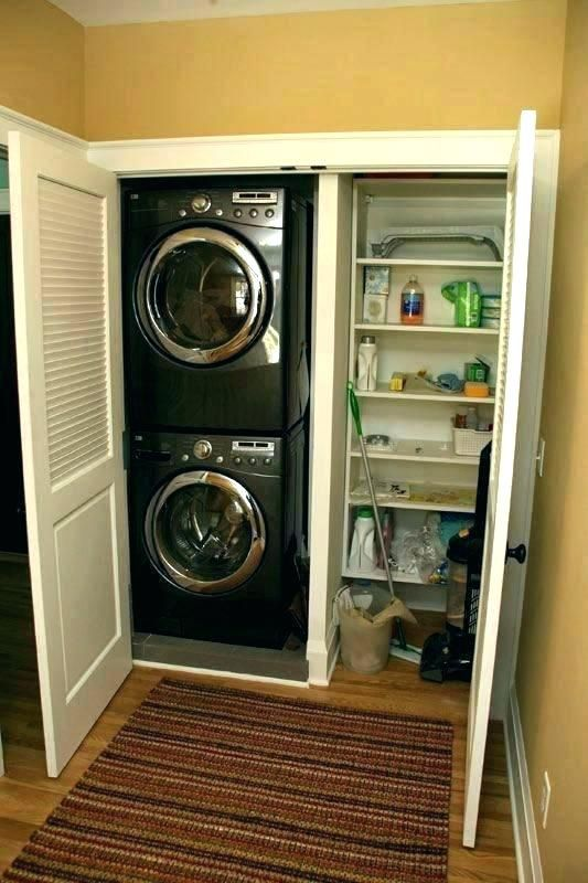 Laundry Closet Dimensions Washer And Dryer Dimensions Breathtaking