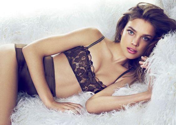 Etam - Natalia Vodianova - 2010FW - ad  campaign lingerie -  fashion ads
