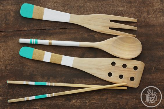 Google Image Result for http://thegoldjellybean.com/wp-content/uploads/2012/05/diy-painted-wood-utensils_0002_after-wooden.jpg