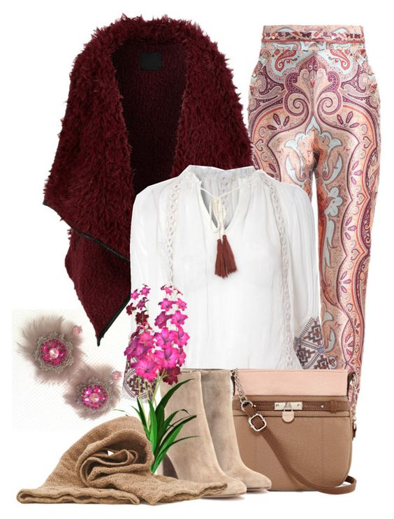 """""""www.sarakeyhandmade.com"""" by sarakeyhandmade on Polyvore featuring Zimmermann, LE3NO, Lipsy, Rosetti and Gianvito Rossi"""