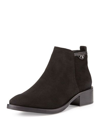 X2E1M Tory Burch Lexi Suede Ankle Boot