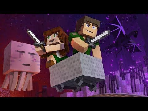 """♪ """"Through The Night"""" - A Minecraft Original Music Video / Song ♪ - YouTube"""