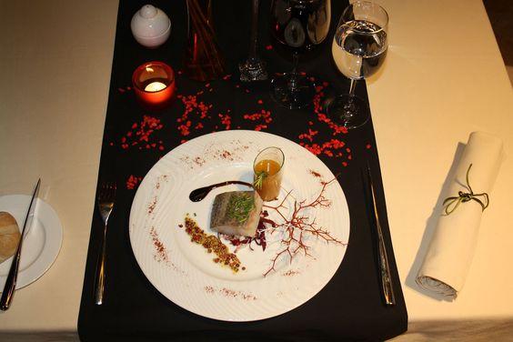 Cenas Temáticas (Noche negro y rojo)
