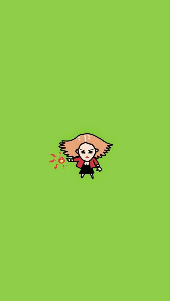Scarlet Witch 640 x 1136 Wallpapers disponible para su descarga gratuita.