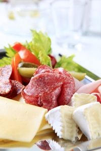 Antipasto Course http://www.escoffieronline.com/creating-the-perfect-antipasto-course/