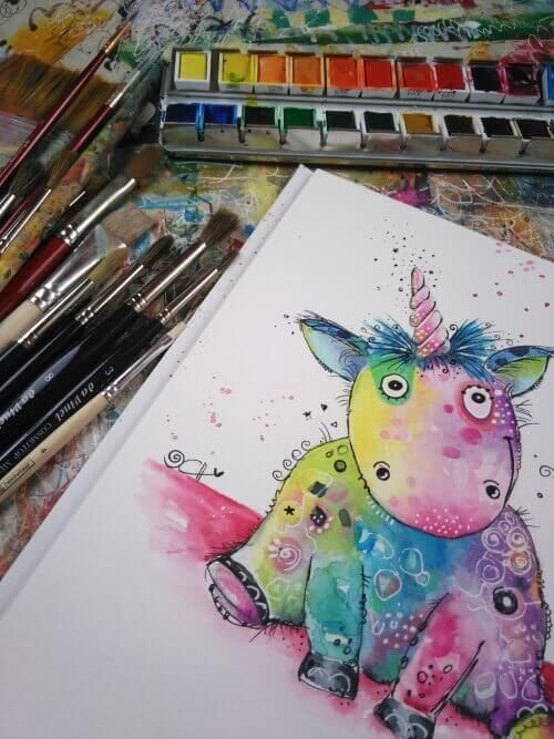 Pin Auf Watercolor Painting